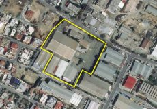 Kaimakli, Nicosia, 17.039 sqm Plot with Industrial Buildings for Sale